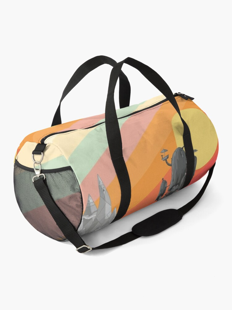 Alternate view of Land Of Ooo (Adventure Time) Duffle Bag