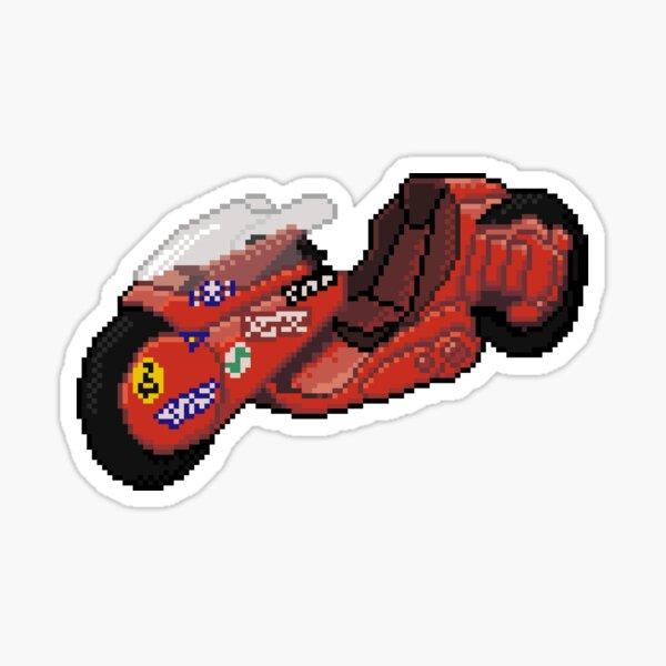 """8-Bit"" Cyber Punk 2019 Motorcycle Sticker"