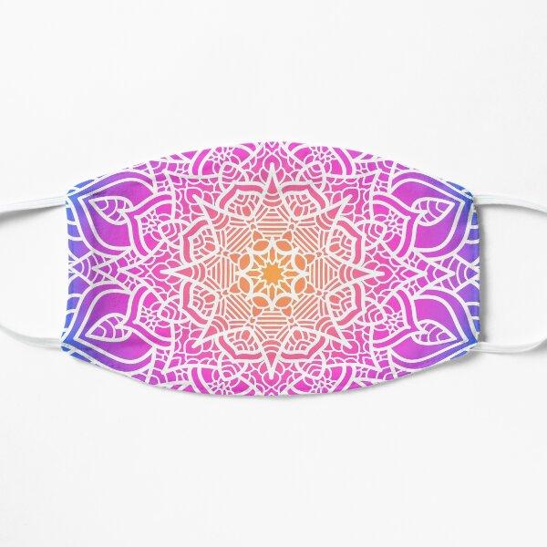 Mandala Art With Gradient Color Flat Mask