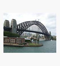 Harbour Bridge - Sydney NSW Photographic Print
