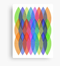 Textured Shapes Canvas Print