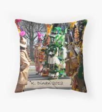 Mummers Throw Pillow