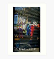 Reflections of Mummers Art Print