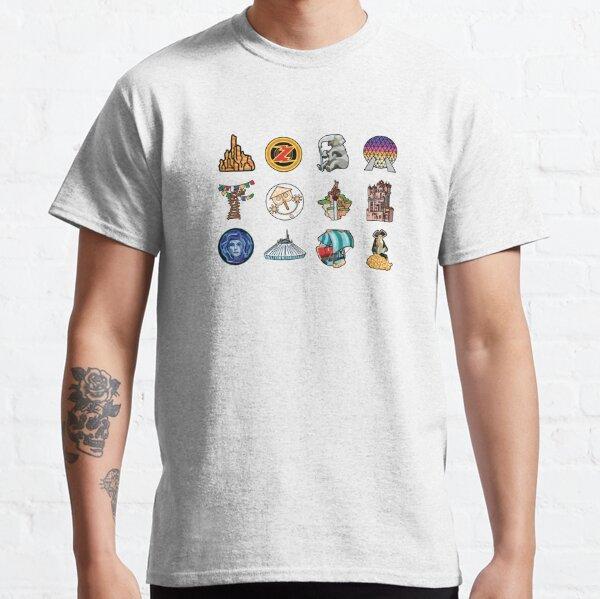 Ride Icon Pattern Classic T-Shirt