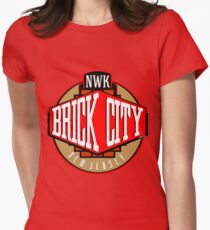 'Brick City West' Women's Fitted T-Shirt