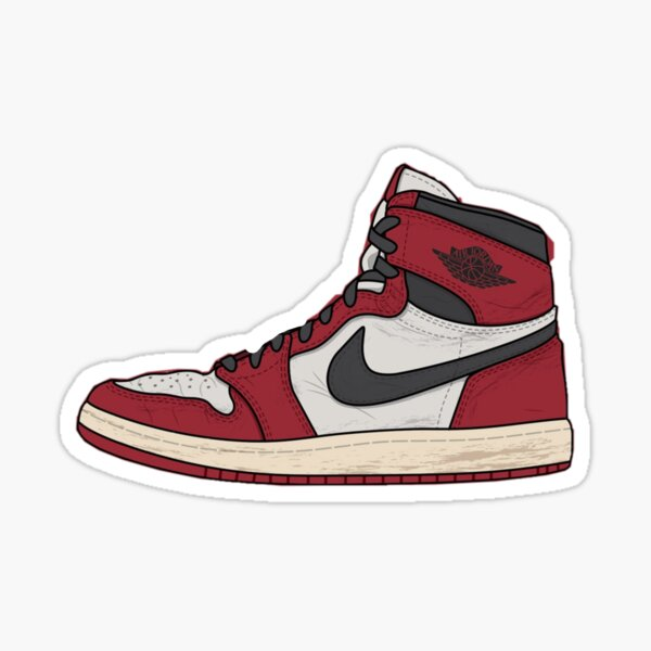 Jordan Shoes Stickers   Redbubble