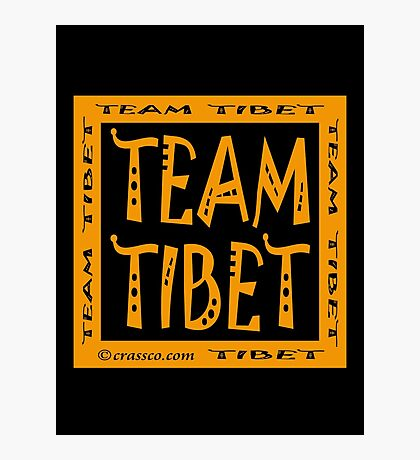 Team Tibet Photographic Print