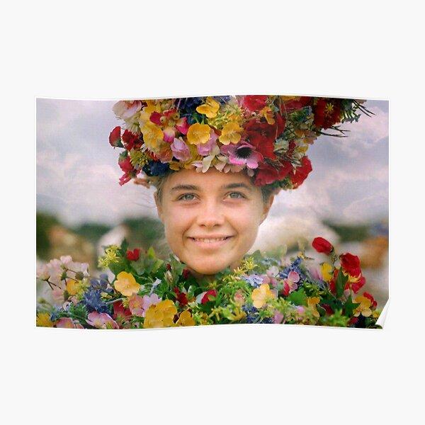 MIDSOMMAR MAY QUEEN - dani ardour / florence pugh Poster