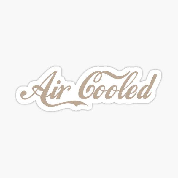 Volkswagen refrigerado por aire Pegatina