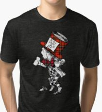 Scottish Mad Hatter T-Shirt Tri-blend T-Shirt