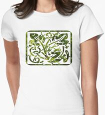cypress decoration Womens Fitted T-Shirt