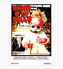 Dawn of the Dolls - Charlotte Photographic Print