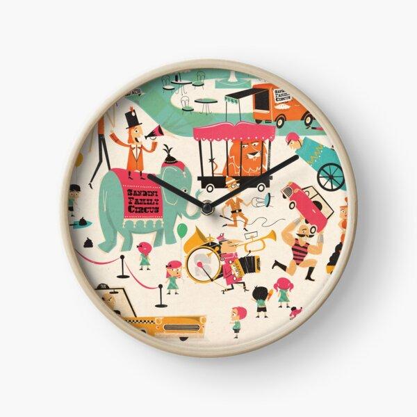Ivan's Circus Clock