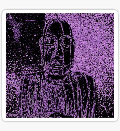 Karma in Lilac Sticker