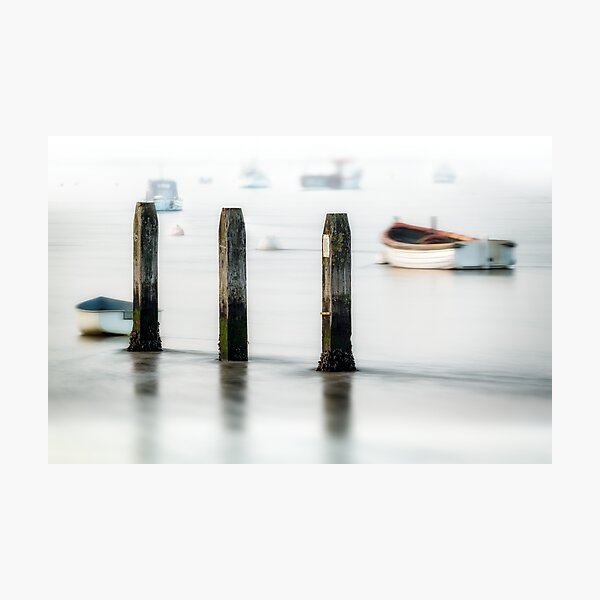 Three Posts Photographic Print