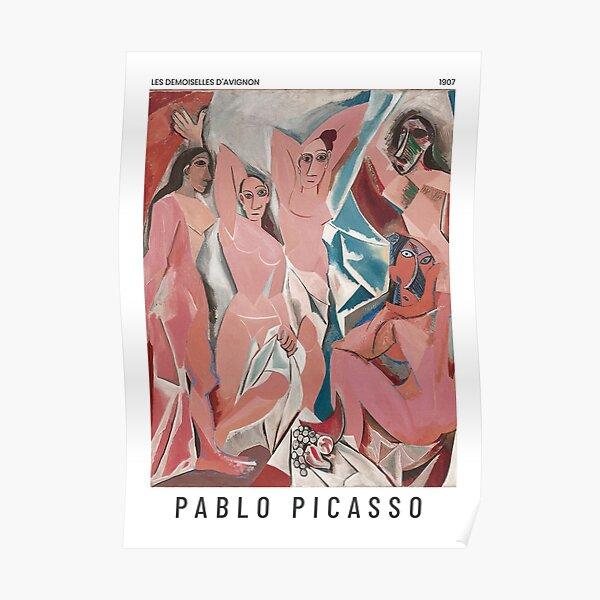 Pablo Picasso - Les demoiselles d'Avignon - Affiche d'art Poster