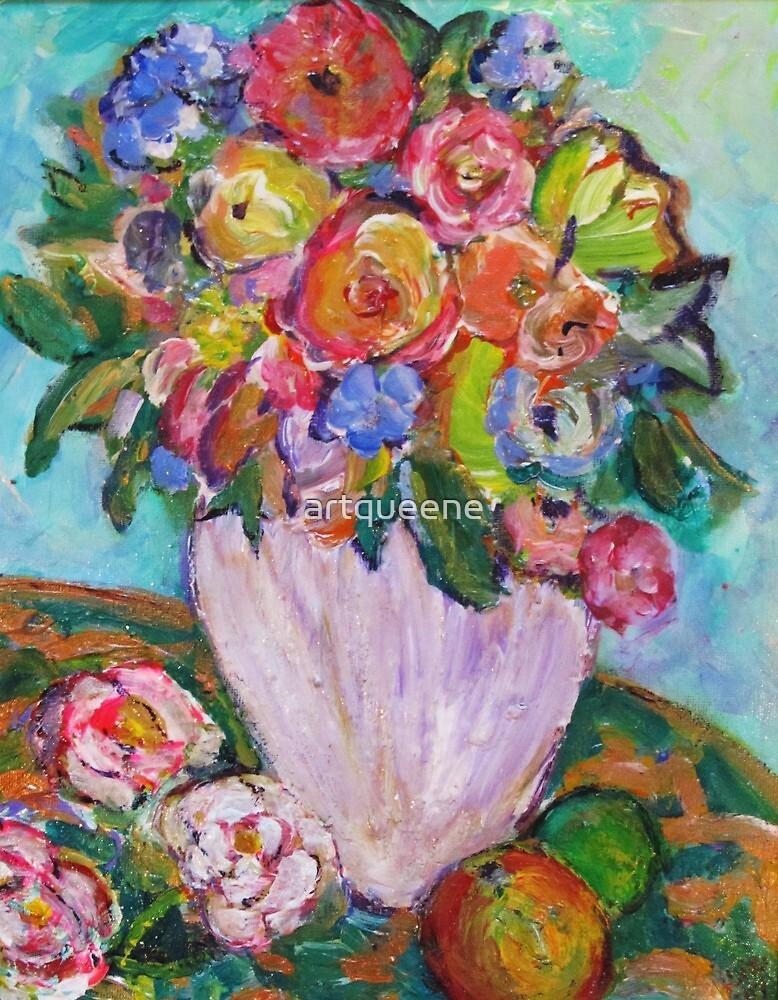 Spring Bouquet & Orange just 4 you! by artqueene