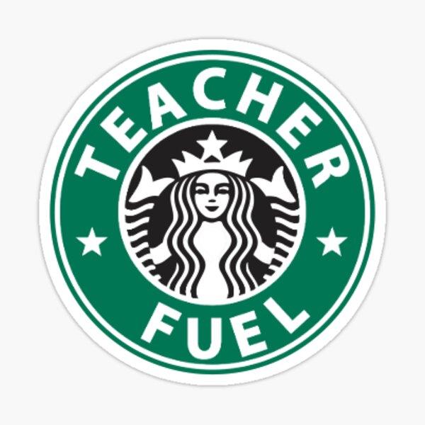 Teacher Fuel Sticker