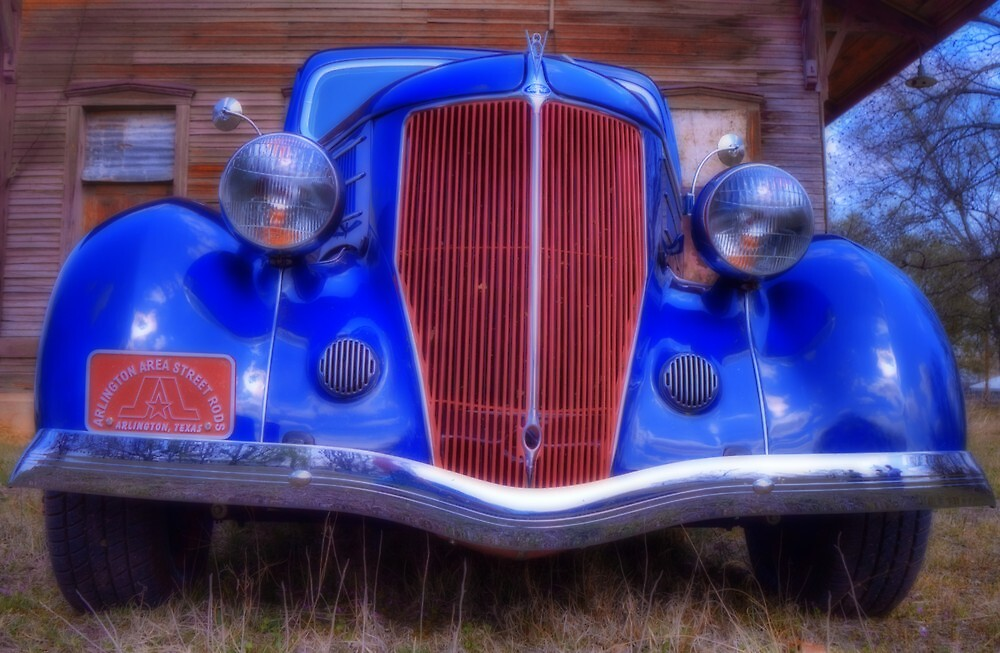 Jerry Johnson's '36 Ford Coupe by Terence Russell