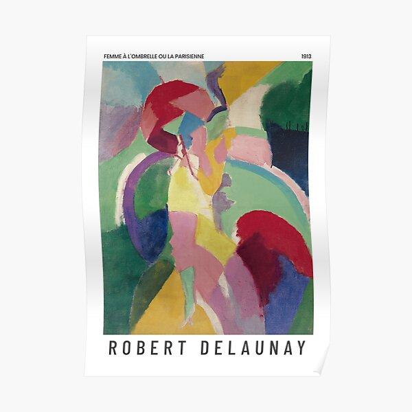 Robert Delaunay - La Parisienne - Art Poster Poster