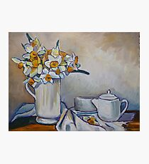 Still life with Daffodils Photographic Print