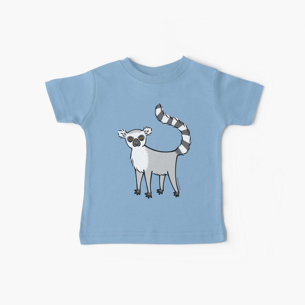 Ring Tailed Lemur Baby T-Shirt