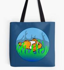 Happy Clown Fish Tote Bag