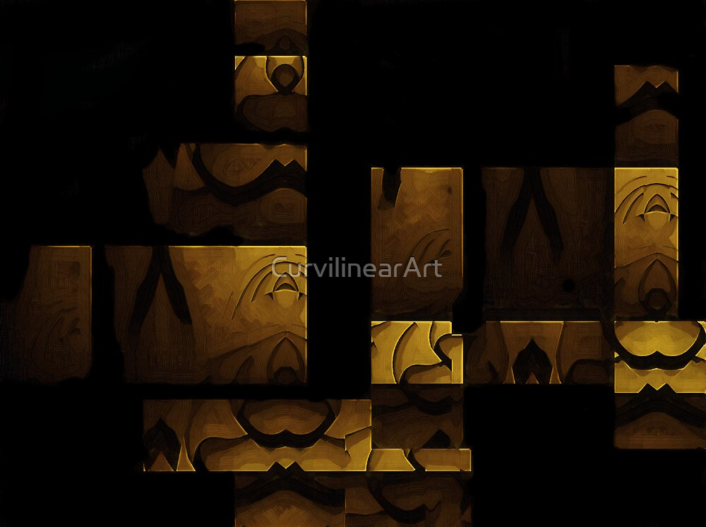 Curvilinear Project No. 64  ( It's All Coming Together Beautifully ) by CurvilinearArt