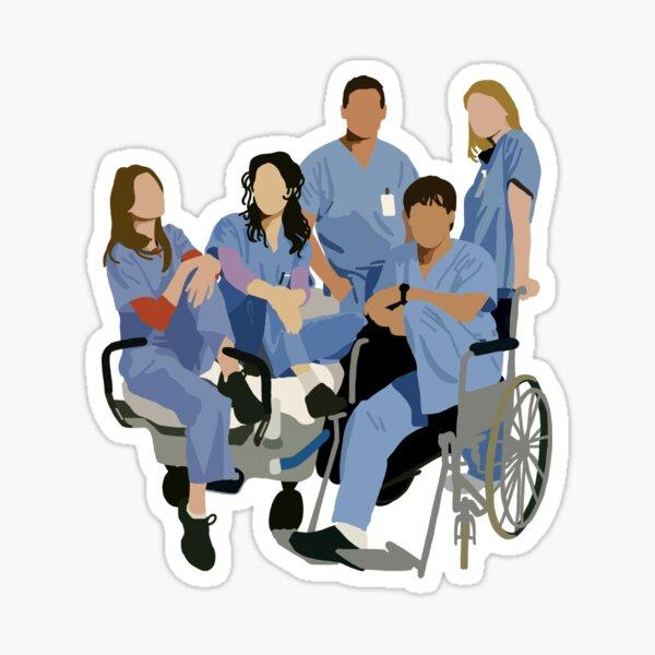 Original Interns | Grey's Anatomy Sticker