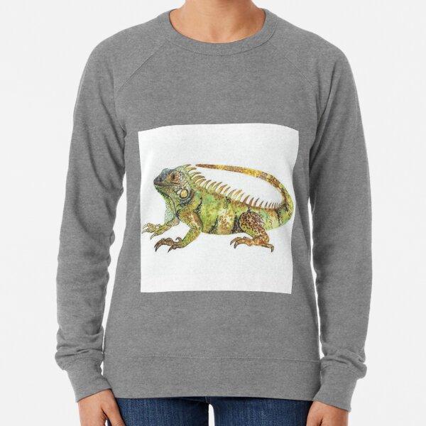 Eguana | Eguana water color | Animal Lightweight Sweatshirt