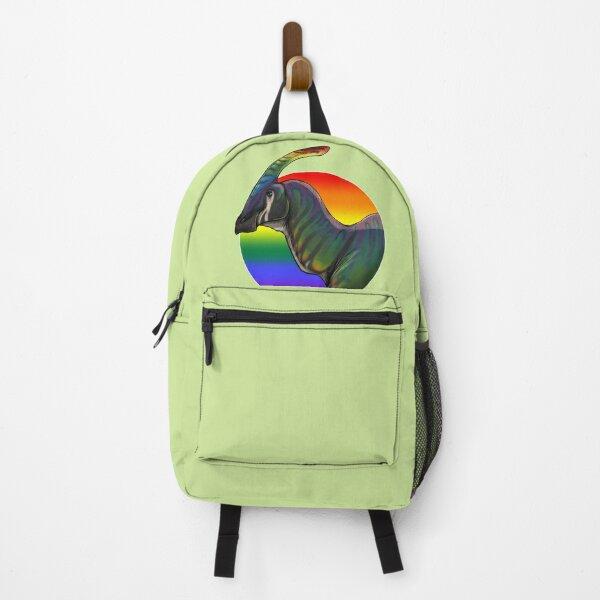 PRIDE dinosaurs: Parasaurolophus (gay flag) Backpack