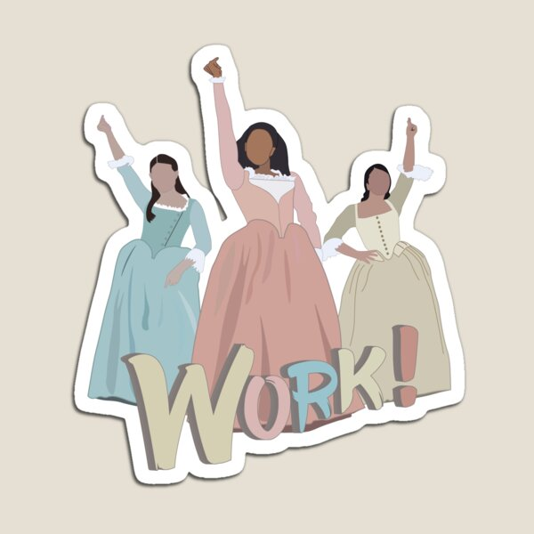 The Schuyler Sisters Magnet