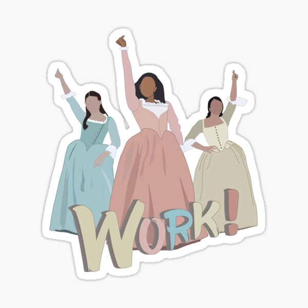 The Schuyler Sisters Sticker
