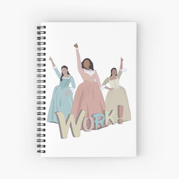 The Schuyler Sisters Spiral Notebook
