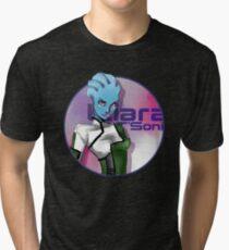 Liara is ♥ Tri-blend T-Shirt