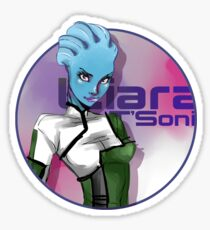 Liara is ♥ Sticker