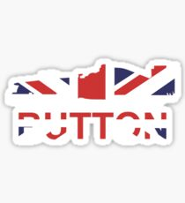 Pegatina Jenson Button Union Jack