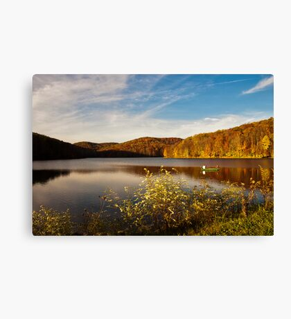 Summit Lake Canvas Print