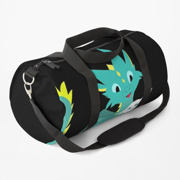 Dragon with a pet cat Duffle Bag
