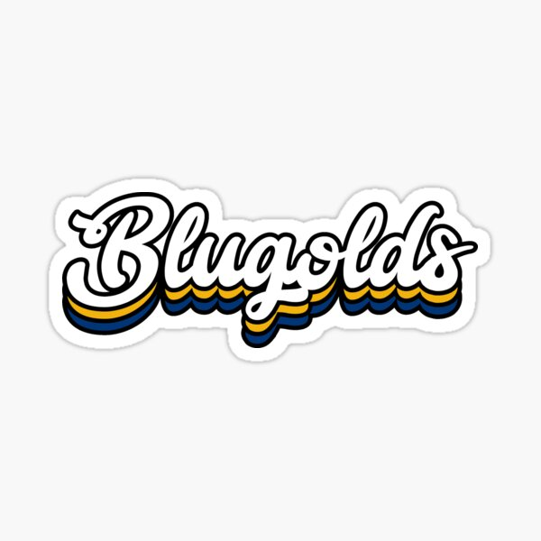 Blugolds - University of Wisconsin-Eau Claire Sticker