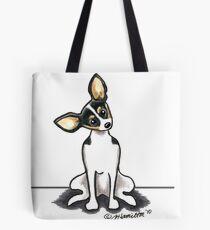 Rat Terrier Sit Pretty Tote Bag