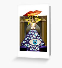 Theda da Greeting Card