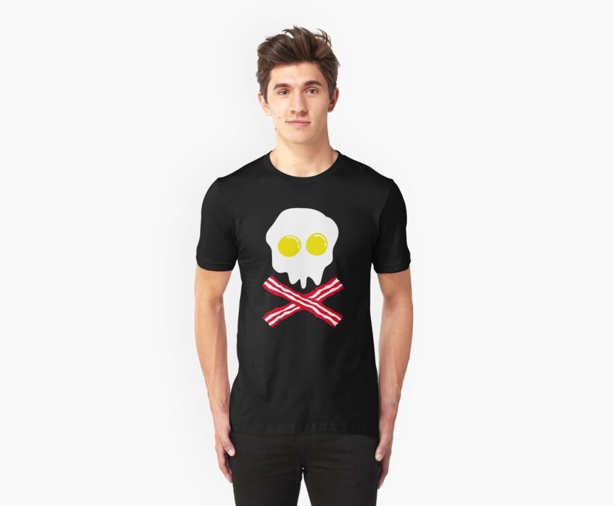 Bacon & Egg Skull by Cheesybee