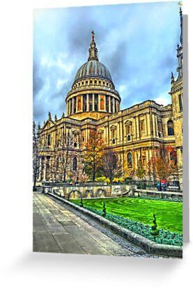 St Pauls by Peter Barrett