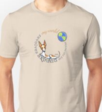 My World My Rat Terrier Unisex T-Shirt
