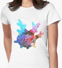 Corsola used Brine Women's Fitted T-Shirt