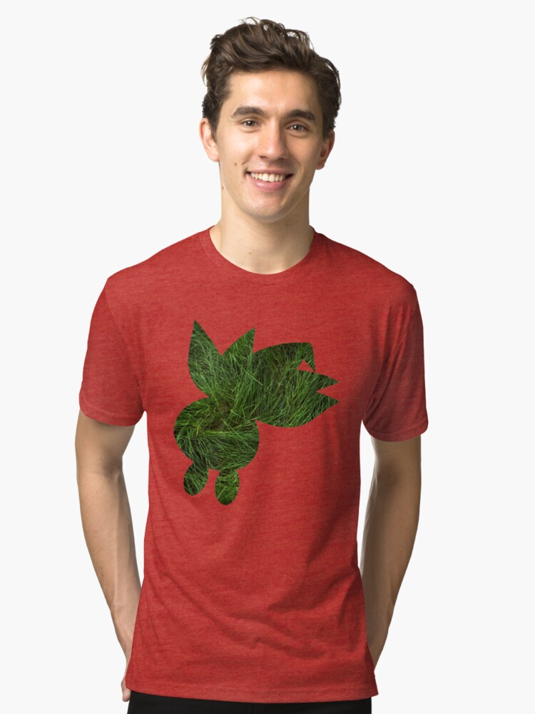 Oddish used Grasswhistle Tri-blend T-Shirt Front
