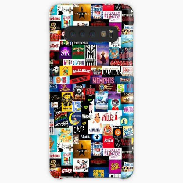 Broadway Show Logo Collage Samsung Galaxy Snap Case