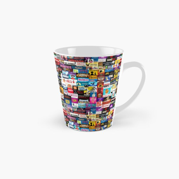 Broadway Show Logo Collage Tall Mug