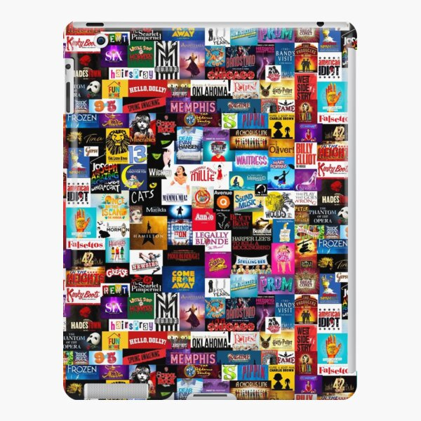 Broadway Show Logo Collage iPad Snap Case